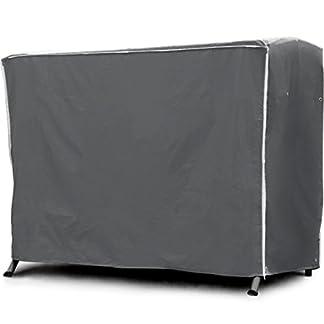 Purovi® Premium Hollywood TELO di copertura per DONDOLO | Tessuto Oxford 420D | Misura universale 210 x 150 x 150 cm | Idrorepellente e resistente ai raggi UV