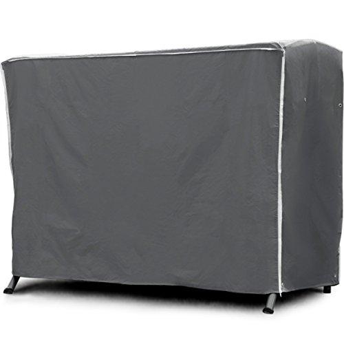 Purovi® Housse Premium Pour Balancelle | Couverture Pour Balançoire de Jardin | 210 x 150 x 150 cm | Imperméable à l'eau | Anti UV