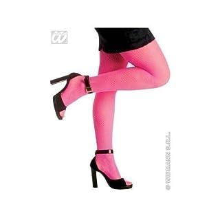 Widmann s.r.l. Neon Netzstrumpfhose in pink