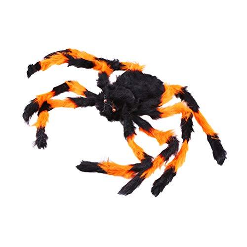 Halloween Dekorationen Hof - jeeri Gefälschte Riesenspinne Nähte Farbe Groß