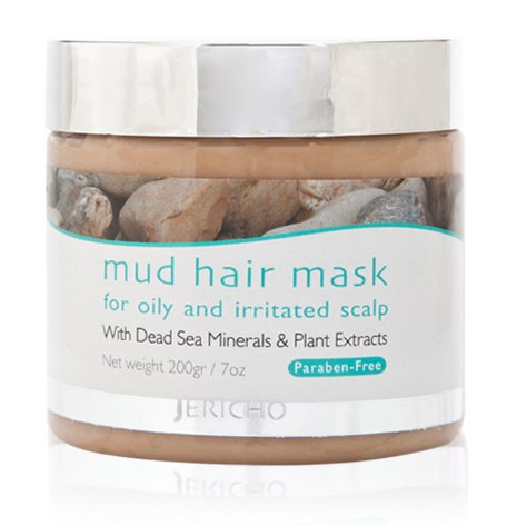 Jericho Dead Sea Mud Hair Mask 200gr 7oz