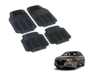 Auto Hub PVC Black Car Floor Mats For Audi A3