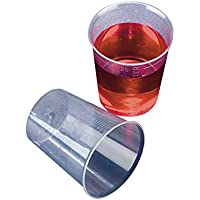 Azlon MWY518 - Pack de 1000 vasitos medidores para medicamentos (plástico, polipropileno, 50 ml)
