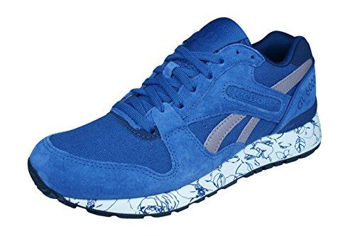 Reebok GL 6000 WRAP Sneaker dames Classique Chaussures en cuir bleu blue
