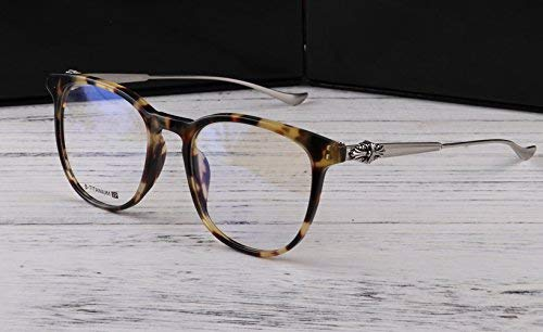 SCJ Brillengestell männlich Ganzkörperpersönlichkeit Korea belebt alte Bräuche mit Einer durchsichtigen Brille aus reinem Titan der Literatur weiblicher Gezeiten