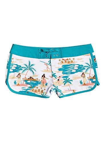 Roxy Love Waimea - Bañador para niña Tallas 8-16, Color Blanco