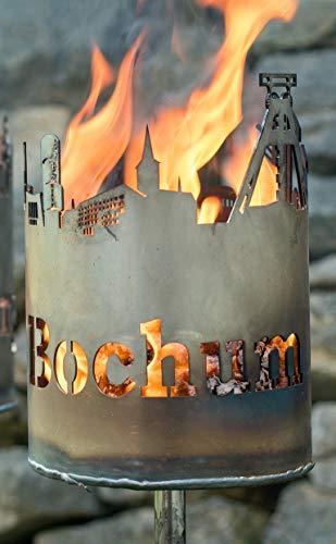 Metalldesign Vehmeier Gartenfackel Sykline Bochum