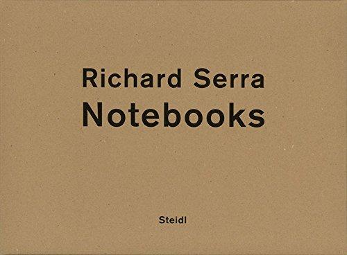 Richard Serra: Notebooks por Richard Serra
