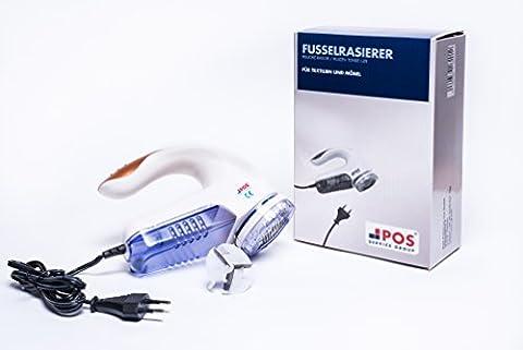 elektrischer Fussel Rasierer | ideal für Knötchen auf Möbeln &