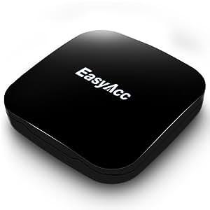 EasyAcc® Soundweaver Bluetooth 4.0 Audio Empfänger HiFi Wireless Lautsprecher Adapter für Auto Radios, Hifi Systeme Zuhause oder tragbare Lautsprecher mit 3.5 mm Klinkenbuchse.