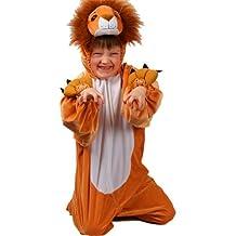 Kids - Disfraz de león para niño, talla 5 - 6 años (KA-4401. M)
