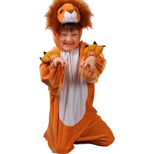 Imagen de kids  disfraz de león para niño, talla 5  6 años ka 4401. m