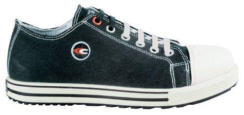 Glory Herren Schuhe (Cofra Sicherheitsschuhe Free S1 P Old Glories, Chucks-Look, Größe 36, schwarz, 35021-002)