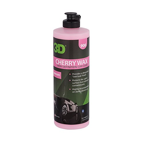 3D Auto Detailing Products Cherry Wachs–Wet Look–16oz -
