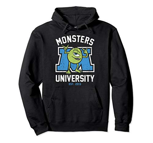 Monsters University Sulley Hoodie - Disney Pixar Monsters University Mike University