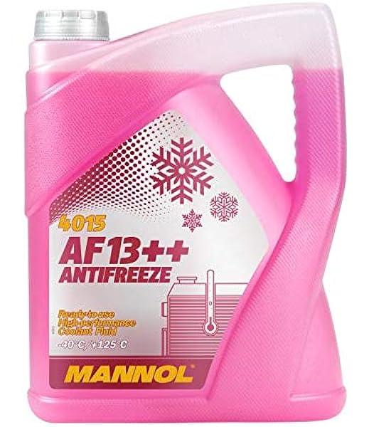 Mannol 5 Liter Af13 40 C Antifreeze Kühlerfrostschutz Fertigmischung G13 Auto