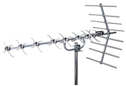 SLx 27884D4 Digitale TV-Antenne, 4G, gefiltert, Loft & Outdoor, 48 Elemente, für Digital TV, High Gain Breitband Freeview HD High-gain-tv