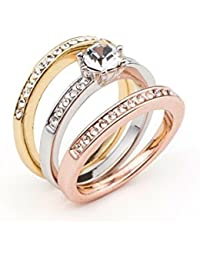 Vipdeluxe - Swarovski anillo armonia t16 Mujer