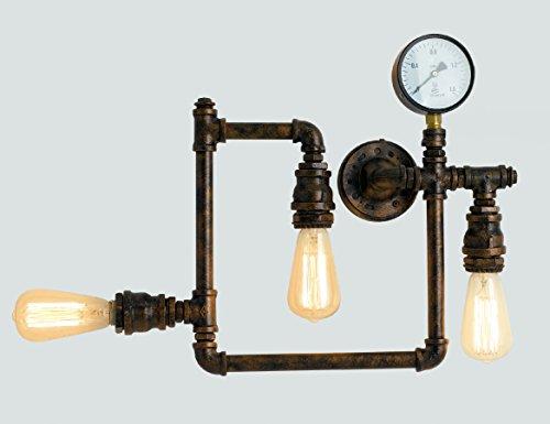 Luce Für 3 Leuchtmittel E27, max. 60 W