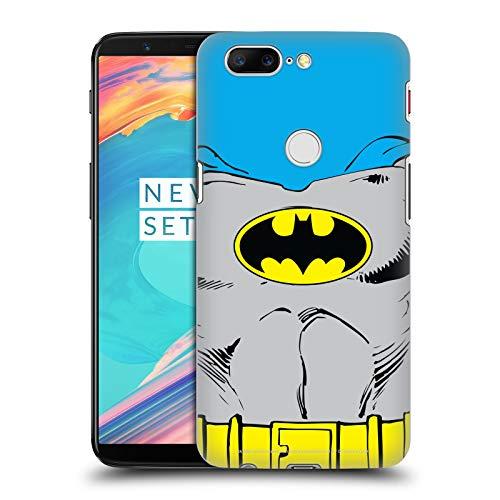 Head Case Designs Offizielle Batman DC Comics Klassische Kostueme Logos Harte Rueckseiten Huelle kompatibel mit OnePlus 5T