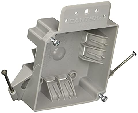 Hubbell-raco 7220rac profonde 1–5/20,3cm carré non métalliques câble électrique Boîte
