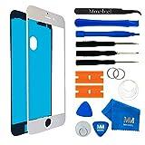 MMOBIEL Front Glas Reparatur Set für iPhone 7 Series (Weiss) Display Touchscreen mit Werkzeug-Set