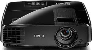 BenQ MS521P 3D DLP-Projektor (New 3D, SVGA, Kontrast 13000:1, 800 x 600 Pixel, 3000 ANSI Lumen, HDMI, VGA) schwarz