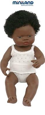 bebé africana niña 40 cm de Miniland