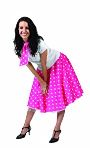 Funny Fashion 508046C - Disfraz de rockera para mujer