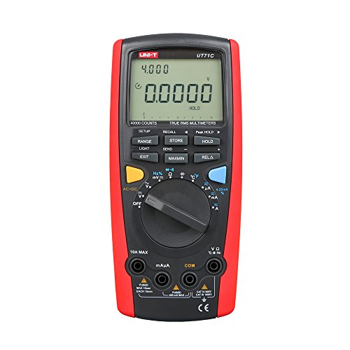 Uni-T ut71 Serie Intelligente Digital Multimeter, rot/grau, 1