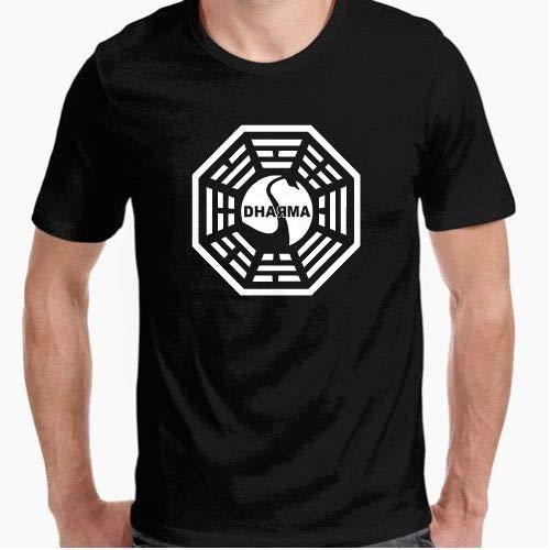 Camiseta - diseño Original - Camiseta Dharma Perdidos - XL