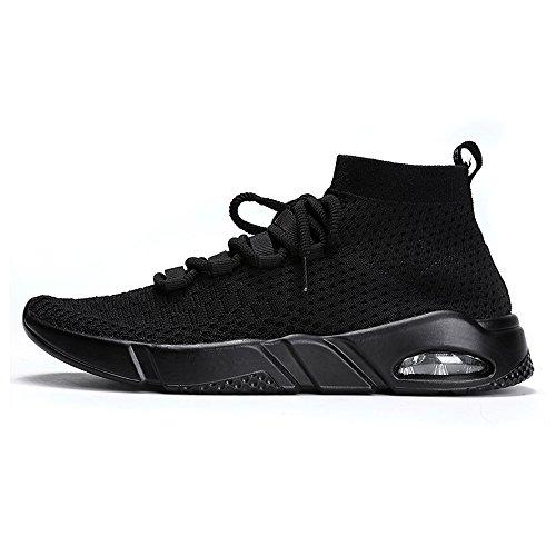 Herren Fitnessschuhe Laufschuhe Sneaker Straßenlaufschuhe Sportschuhe Turnschuhe Gym Leichte und Atmungsaktive für