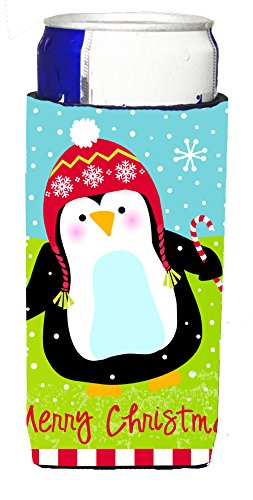 merry-christmas-happy-penguin-michelob-ultra-koozies-for-slim-cans-vha3015muk