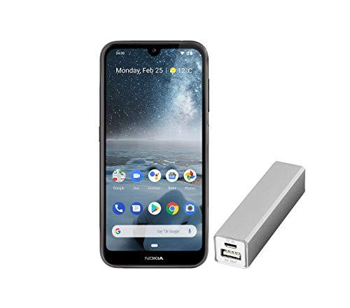 Nokia 4.2 Dual SIM Smartphone – Prodotto tedesco (14,5 cm (5.71 pollici), fotocamera principale 13 MP, 3 GB RAM, 32 GB di memoria interna, Android 9 Pie) nero, Amazon Edition con Powerbank