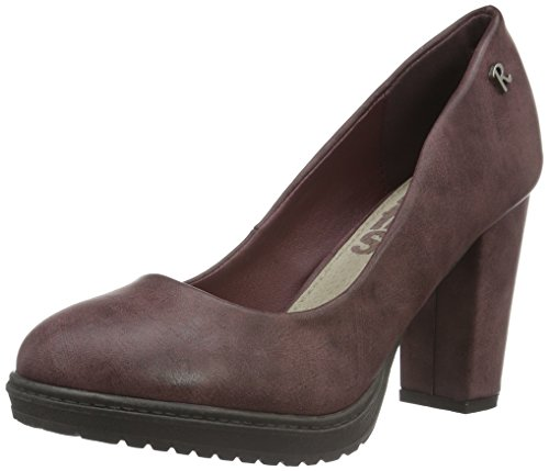Refresh Damen 63042 Pumps, Rot (Burdeos), 41 EU
