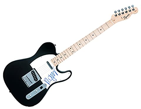 The Cure Robert Smith Autographed Signed Fender Tele Guitar AFTAL