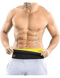aab1da5cb6 SELVA FRONT Adjustable Slimming Sweat Belt Yoga Wrap Sweat Tummy Trimmer  hot Body Shaper Exercise Back