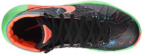 Nike Hyperdunk 2015 Prm, Chaussures de Sport Homme Multicolore - Negro / Naranja / Azul / Verde (Blck / Hypr Orng-Bl Lgn-Grn Shck)