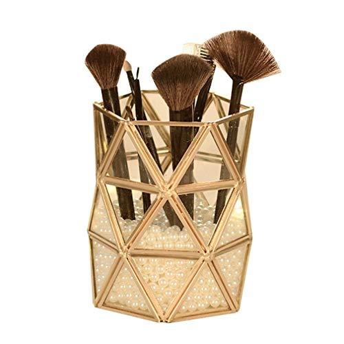 Support de Boîte de Stockage de Cosmétiques D'organisateur de Maquillage, Accessoires Clairs de Bureau Pots Cosmétiques pour Les Produits Élevés de Lustre/Rouge À Lèvres