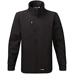 Fortress 204/BK-XL X-Large Selkirk Soft Shell Jacket - Black