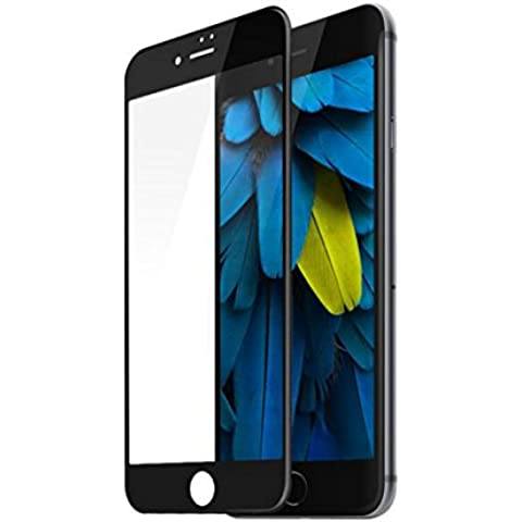 iPhone 7 Plus Tempered Glass Screen Protector Full Coverage, HD Film Protector with 9H Hardness Anti-scratch, Anti-Fingerprint and Anti-Bubble -
