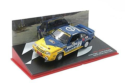 Opel Manta 400 – Rallye Villa de Llanes 1986 (1:43) Josep Arqué / Javier Muntafiola