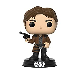 Funko 26974 Pop! Star Wars: Han Solo Bobble Figure