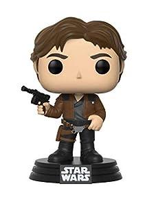 Funko Pop!-Han Solo Star Wars: Red Cup Figura de Vinilo, Multicolor (26974)