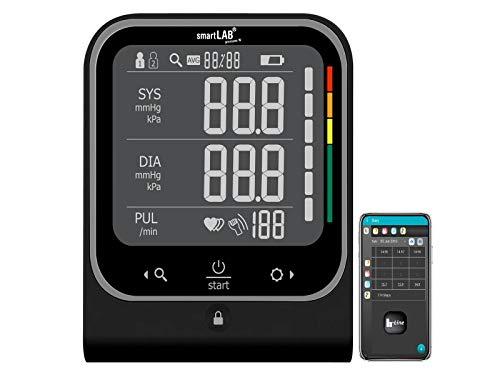 SmartLAB Pressure W brazo Tensiómetro Negro Bluetooth