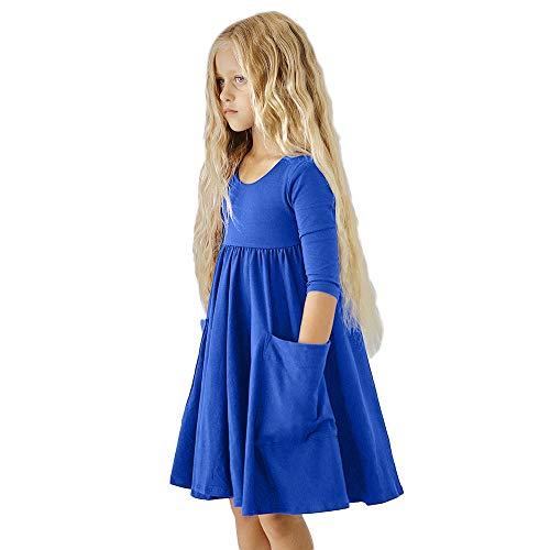 Beikoard Weihnachten Kleidung, Kleinkind-Baby-Mädchen-Kinderherbst-Lange Hülsen-Kleidung Duck Print Princess -