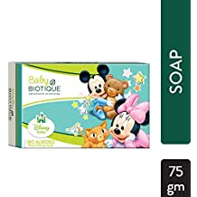 Biotique Disney Mickey Baby Nourishing Soap, Almond (75g)