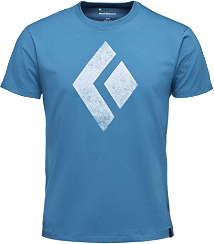 Black Diamond Chalked Up Tee - astral Blue (Blue Diamond Tshirt)