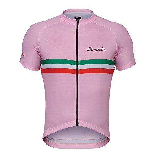 Borvelo Herren-Bike-Qualität professionelle Fahrradtrikot, radtrikot,fahrradbekleidung Atmungsaktiv