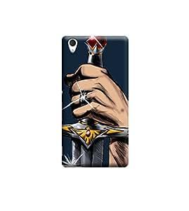 Ebby Premium Printed 3D Designer Back Case Cover For Sony Xperia M4 (Premium Designer Cae)